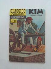 Classics Illustrated #143 - KIM  - HRN 169 VGFN