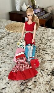 """UNEEDA~""""WENDY""""~CLONE BARBIE DOLL~swirl With Clone Outfit Lot!  BEAUTIFUL!"""