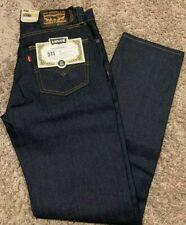 Levi's 511 Slim Fit Skateboarding Jeans Rigid Blue Men's Size 30X32 MSRP $79 NWT