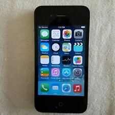 UNLOCKED Apple iPhone 4 - 16GB - Black AT&T A1332 (GSM: T-mobile h2o mint metro)