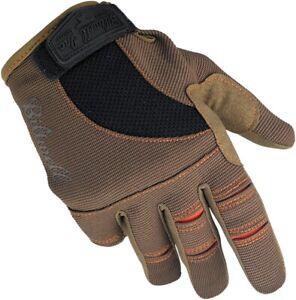 Moto Gloves XS Brown/Orange BILTWELL GL-XSM-BR-OR