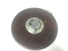 Vintage LUFKIN 100' Hi-Line Non-Metallic Tape Measure CALIFORNIA HIGHWAYS