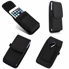 Para Apple iPhone/XR/XS Max X Gancho De Cinturón Bolsa Cubierta Estuche de Nylon Pistolera fijar