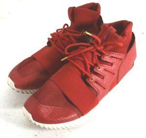 Adidas Tubular Doom Chinese New Year Men's Shoes Power Red-Gold Metallic 12.5