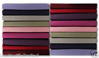 200 Thread Count 100% Egyptian Cotton Dyed Fitted Bed Sheets Sizes(S.D.K.SK.PC).