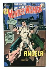 WONDER WOMAN #193 - THE NEW WONDER WOMAN - HER QUEST IN THE BIG CITY - 1971