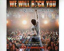 CD QUEEN and BEN ELTONwe will rock youEX(A3529)
