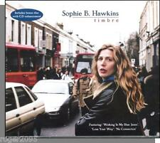 Sophie B. Hawkins - Timbre - New 2001 Ryko CD + Bonus Disc!