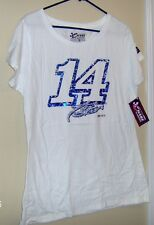 Tony Stewart # 14 White T- Shirt