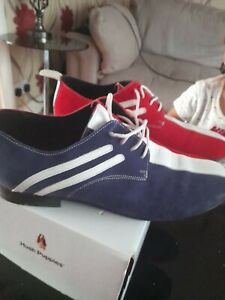 Red, White And Blue Jam Stage Shoes