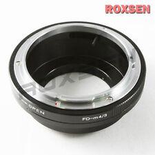 Canon FD lens to Olympus Panasonic micro 4/3 Adapter G1 GF1 E-P1 P2 M5 OM-D GH4