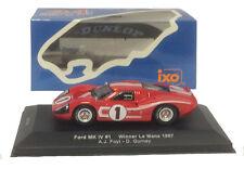 IXO LM1967 Ford MK IV #1 Winner Le Mans 1967 - Foyt/Gurney 1/43 Scale