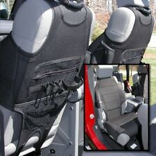 Seat Covers - Set of 2 Rugged Ridge Black Seat Cover Vests for Jeep Wrangler JK