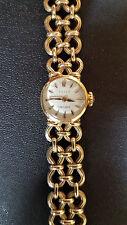 Vintage Luxury Dress Women's Rolex 14k Orchid Yellow Gold Wrist Watch