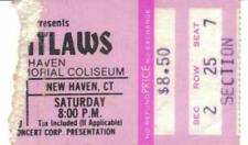 Outlaws 1979 Ticket Stub New Haven Ct