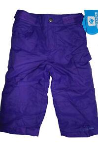 Columbia Toddler Girls Size 2T Star Chaser Peak II Winter Snowpants Hyper Purple