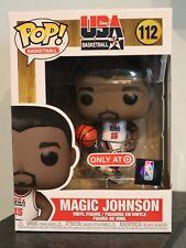 Funko Pop! - MAGIC JOHNSON 112 - USA BASKETBALL NBA - Target Exclusive [1]