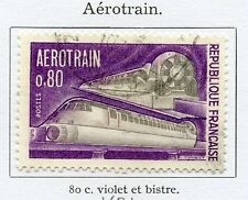 STAMP/ TIMBRE FRANCE OBLITERE N° 1631 AEROTRAIN / TRAIN / CHEMINS DE FER