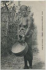 CP  SEIN NUS AFRIQUE OCCIDENTALE SENEGAL GENEVE DU SINE NU NUE N° 1234