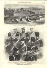 1866 SOLDATI DELL'ESERCITO PRUSSIANO ARTIGLIERIA AUSTRIACA lasciando Peschiera