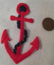 Red Anchor Embroidery Applique Patch Emblem Lot 2 Dozen (24Patches)