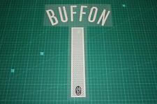 Juventus 04/05 #1 BUFFON Homekit Nameset Printing