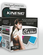 "GENUINE KINESIO TEX TAPE CLASSIC WHITE 2"" X 13.1' KINESIO TAPE"