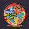 LMH Patch  BASKETBALL HOOP Build Grow  LOWES Kids Clinic MINI TABLETOP Ring