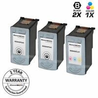 3PK PG-40 CLI-41 for Canon BLACK COLOR Ink Cartridge Fax-JX200 FAX-JX210P iP1600