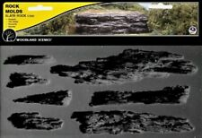 Woodland Scenics 1247 Rock Mold - Shelf Rock, Flexible, Reusable - NIB