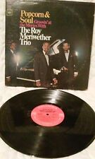 Roy Meriwether Trio, Popcorn and Soul, Groovin' at the Movies DEMO Vinyl LP  33