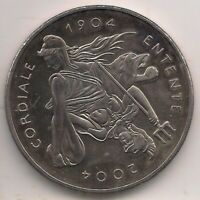 2004-£5 coin-ENTENTE CORDIALE.