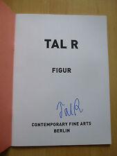 """Vallée R autographe signed EXPOSITION CATALOGUE """"Personnage"""""""