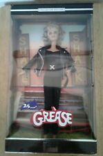 Mattel Barbie Collector Grease Sandy Olsson Leather Jacket Doll 2003
