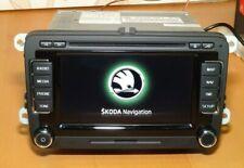 SKODA COLUMBUS DAB RNS510 3T0035686L RADIO DVD SAT NAVIGATION + CODE + 2020 MAPS