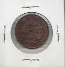 P27 PRINCE EDWARD ISLAND 1c ONE CENT 1871 VF  PRE-CONFEDERATION - EARLY CANADA