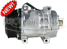 A/C Compressor w/Clutch for Freightliner & Volvo Trucks - Sanden 4776 - NEW