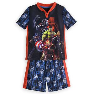Marvel's Avengers: Age of Ultron Short Sleep Set for Boys Pajamas Disney Store