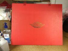 Nike Air Jordan RETRO 2 II Just Don C Beach RED BOX ONLY - JUST THE BOX Sz 9