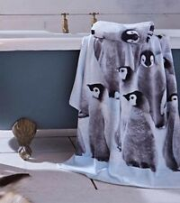 Catherine Lansfield Penguin Towels Soft Hand or Bath Towels Bathroom Towel
