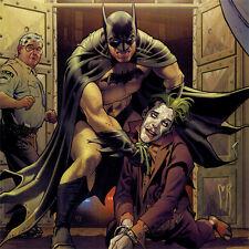 BATMAN CONFIDENTIAL #22 Cover ART PRINT Stephane Roux SIGNED Joker DC COMICS New