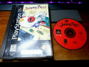 JUMPING FLASH (Playstation) LONGBOX Early Release PS1 Complete Rare!