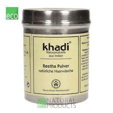 Khadi Herbal Cabello Lavado Polvo Puro Natural reetha 150g
