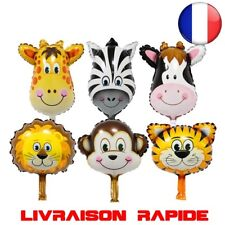 6 pcs/lot Mini tête animal Ballons gonflable air fête anniversaire enfant shower