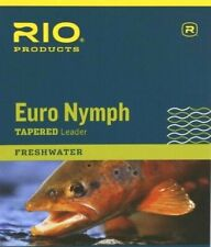 Rio Euro Nymph Tapered Leader - All Colors - Free Shipping Options