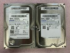 "Lot of 2, Samsung 500GB & 160GB, 3.5"" Internal Hard Drives"