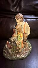 "Vintage Naturecraft ""Friendly Persuasion"" Stoneware Figure Ref no 853"
