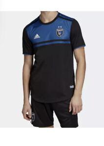 Adidas San Jose Quakes MLS Jersey Primary Shirt Men's SIZE Large