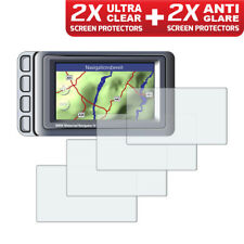 BMW Navigator IV Nav 4 GPS Screen Protectors: 2 x Ultra Clear & 2 x Anti Glare