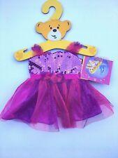 Build a Bear Clothing- Disney Palace Pet Summer Purple/Pink Princess Dress-New